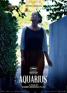 "Poster do filme ""Aquarius"""