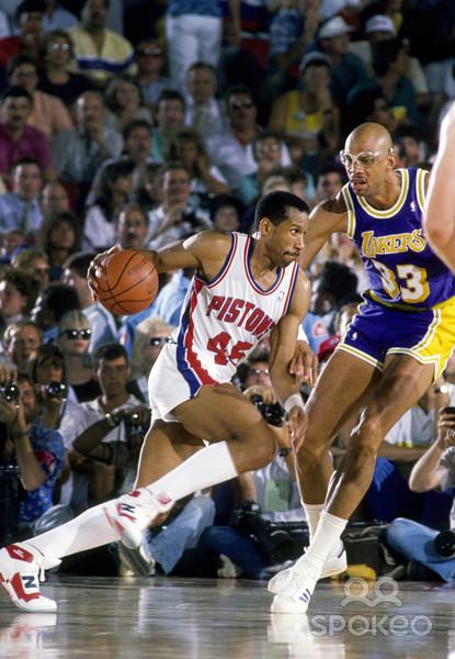 DAR Sports: 1988 NBA Finals- Pistons vs Lakers ...