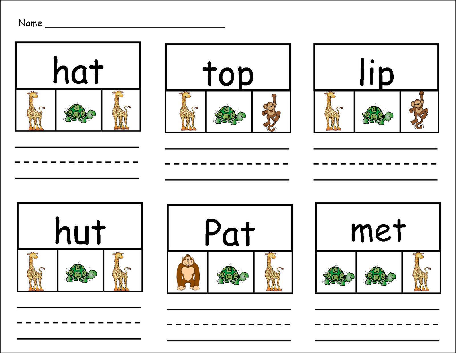 Inspired By Kindergarten Handwriting Zoo Freebie