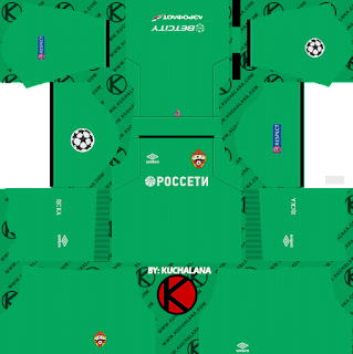 CSKA Moscow 2018/19 UCL Kit - Dream League Soccer Kits
