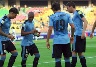 Urugay U20 enfrenta a Portugal U20  en Cuartos de Final del Mundial Sub 20 Corea del Sur 2017