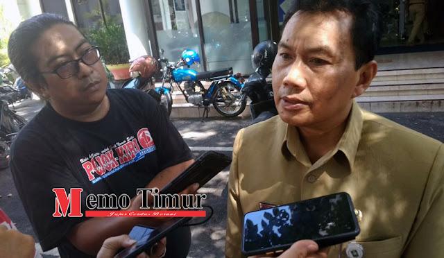 Kepala Dinas Perdangan Lumajang Drs. Agus Eko Suprayitno, M.Pd