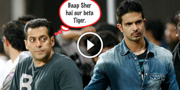 Salman Khan Launches Bodyguard Sheras Son Tiger Glamour Salman