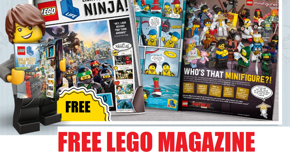 Free LEGO Club Magazine Subscription - HEAVENLY STEALS