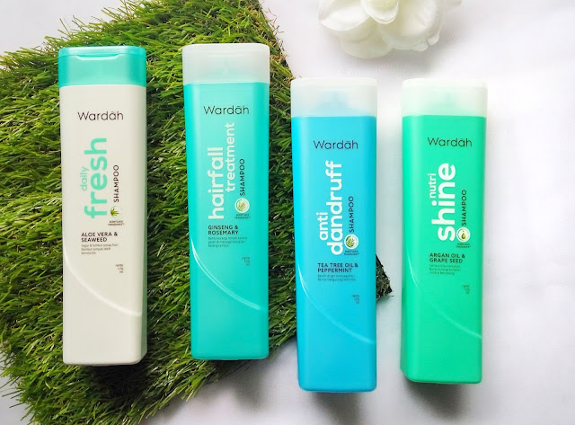 varian wardah shampoo