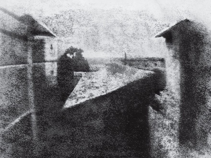 #20 View From The Window At Le Gras, Joseph Nicéphore Niépce, 1826 - Top 100 Of The Most Influential Photos Of All Time