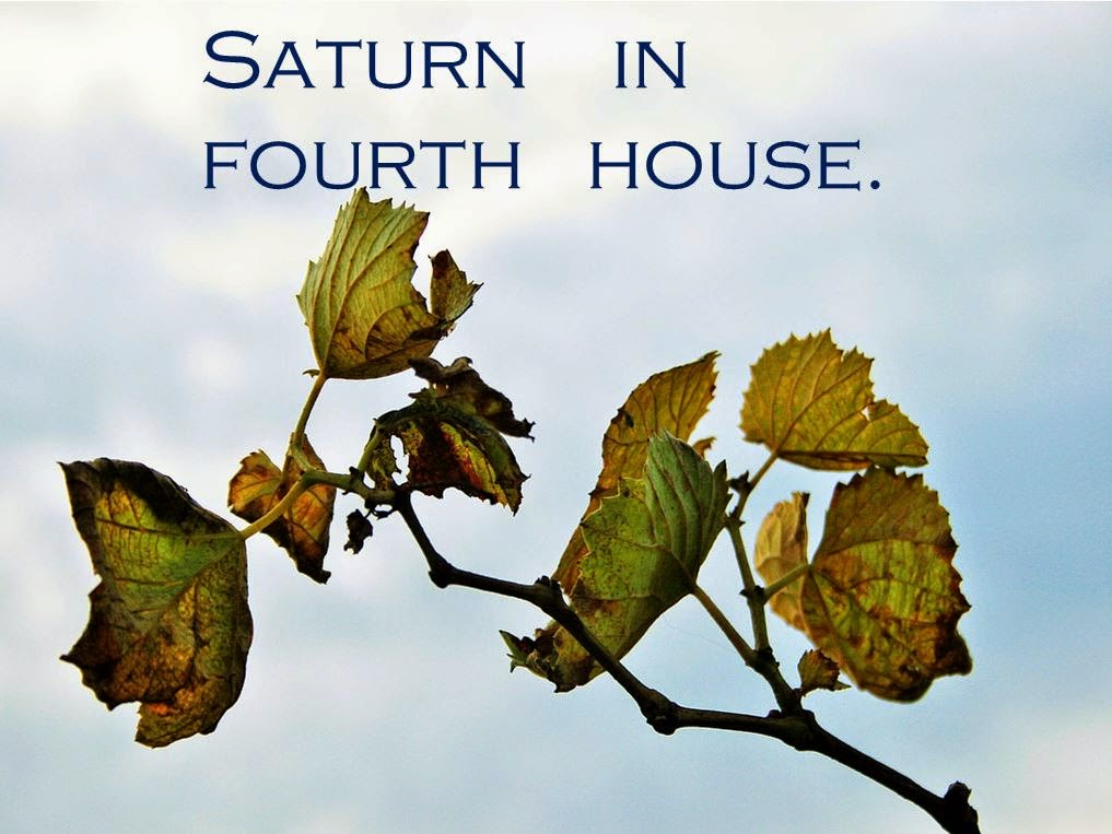 Saturn in fourth house