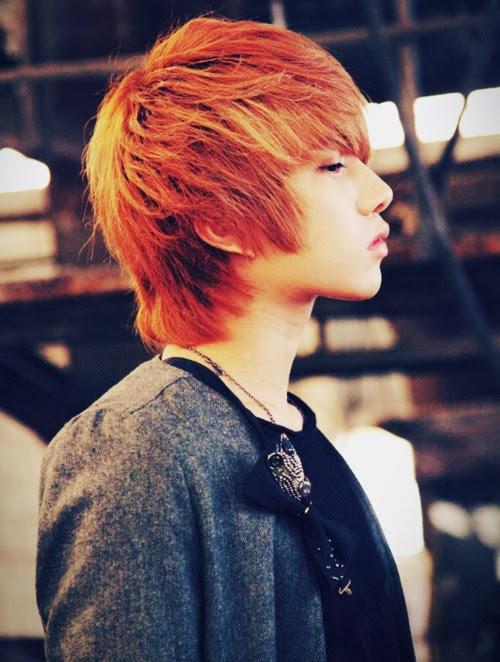 Ulzzang Red Hair Ulzzang boy gui...