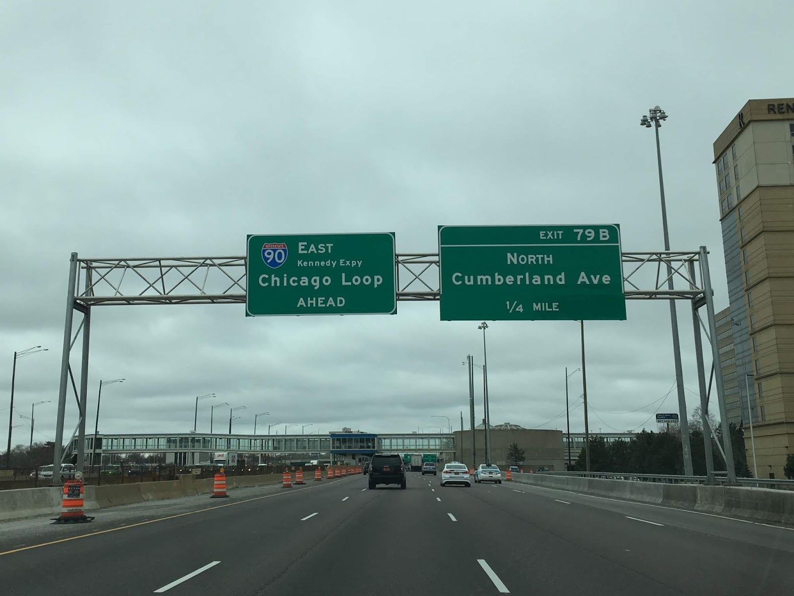 Kennedy Expressway (Interstates 90, 94 and 190)