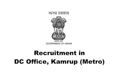 Women Welfare Officer/ District Coordinator Recruitment in DC Office, Kamrup (Metro). Last Date: 08/03/2019