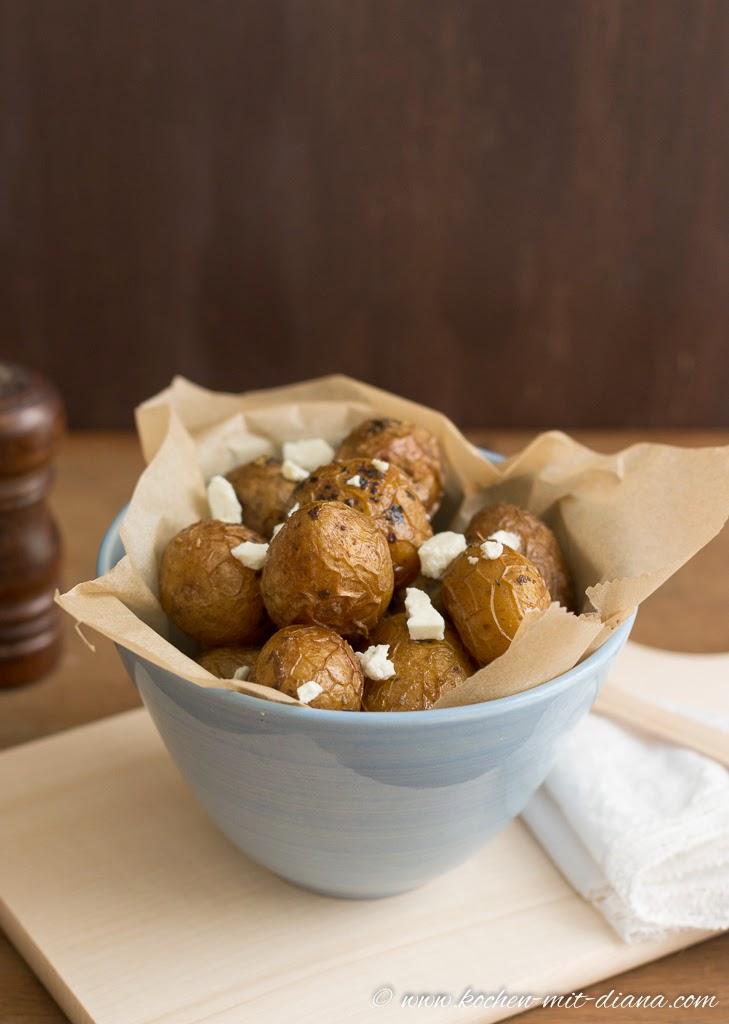 Neue Kartoffeln aus dem Ofen