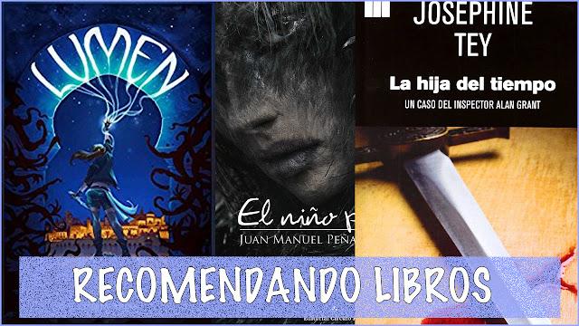 Recomendando libros El Rincón de las Páginas