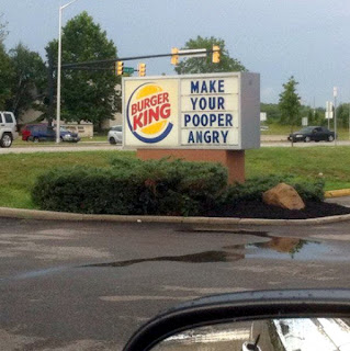 make your pooper angry burger king sign fail