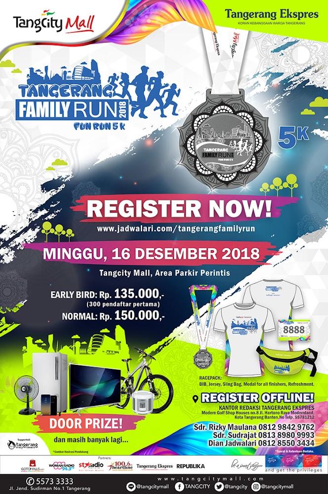 Tangerang Family Run • 2018