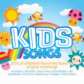 Kids Songs Triple CD from demon music group