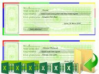 Download Aplikasi Cetak Kwitansi Terbaru Untuk Laporan BOS Format Excel
