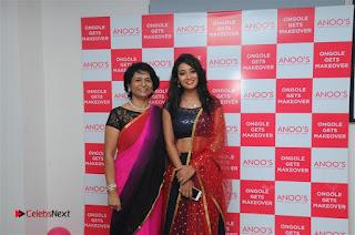 Telugu Actress Bhanu Sri Stills in Lehenga Choli at Anoo's Salon Launch at Ongole  0021.jpg