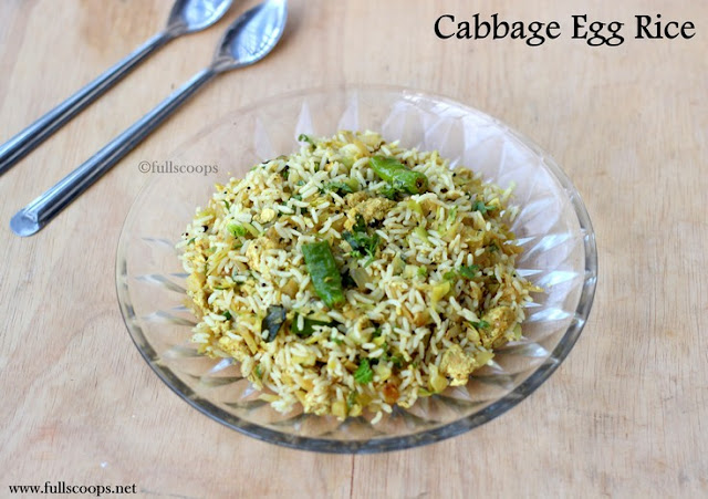 Cabbage Egg Rice