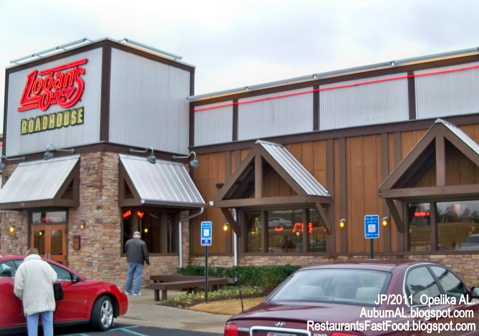 Logan S Roadhouse Restaurant Opelika Auburn Alabama Gateway Dr Al Lee County