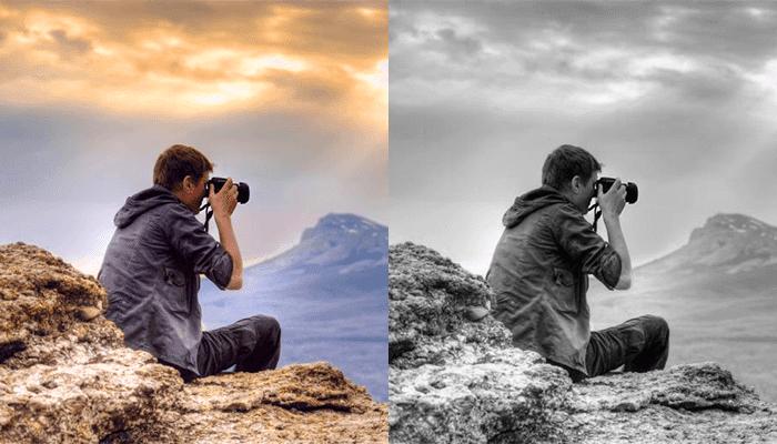 Fotoğraflar Nasıl Siyah Beyaz Yapılır?