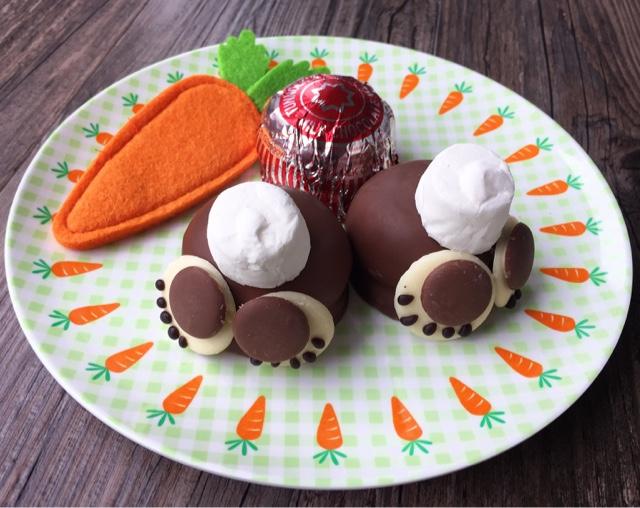 Fun Easter Bakes, Tunnock's Teacake Easter Bunny Bums