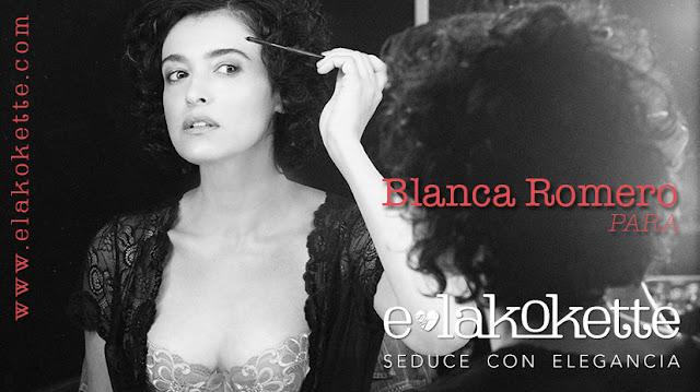 Blanca Romero para E-lakokette