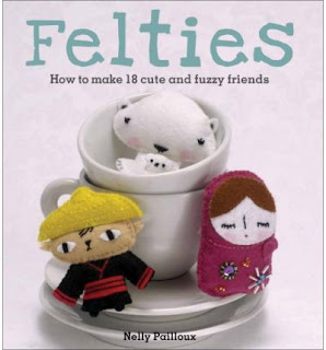 craft book Felties by Nelly Pailloux