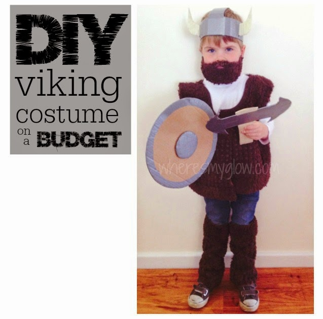 He loved it. I loved it. People could recognize what it was meant to be and it cost me almost nothing. Thatu0027s winning in my books.  sc 1 st  Whereu0027s My Glow? & Whereu0027s My Glow? : How to make a kids viking costume on a budget