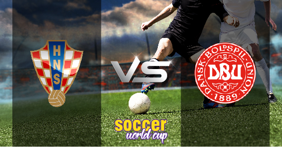 Croatia vs Denmark soccer world Cup
