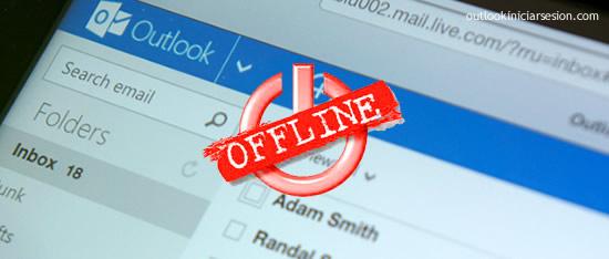Aprende a activar la función offline de Outlook
