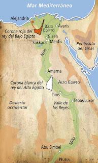 Plano antiguo Egipto