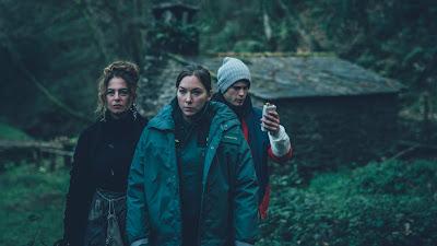 Los tres protagonistas de 'El punto frío'