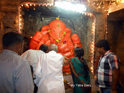 Lord Ganesha Temple in Jogeshwari caves, Mumbai