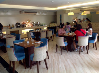 Halo Restaurant, St. Mark Hotel, Cebu, Breakfast Buffet 380 pesos