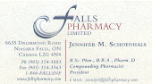 Niagara Region Falls Pharmacy Jennifer Schoenhals Niagara in Niagara Region