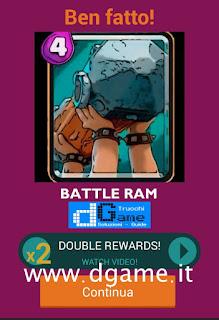 Soluzioni Quiz Clash Royale card livello 37