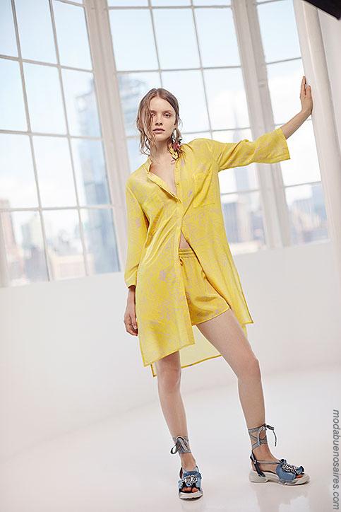 Moda camisas de mujer verano 2018.