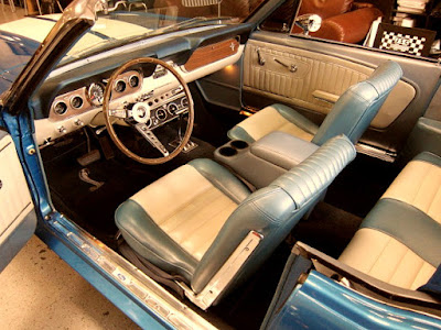 1966 Ford Mustang GT 350 Sport Convertible Interior