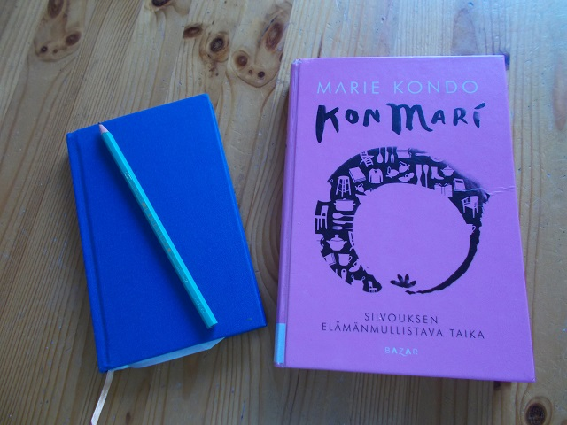 KonMari ja minimalismi