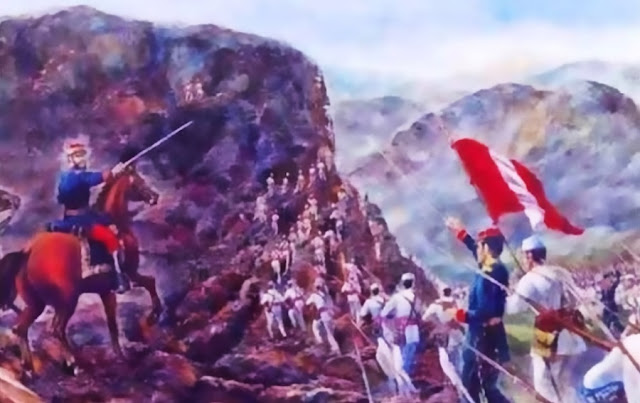 10 de julio se recuerda el Aniversario de la Batalla de Huamachuco