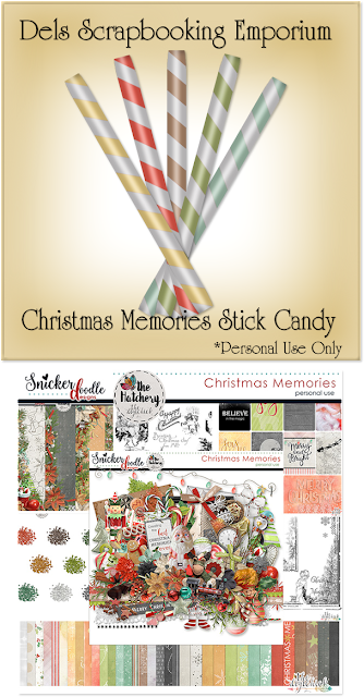 Christmas Memories Stick Candy