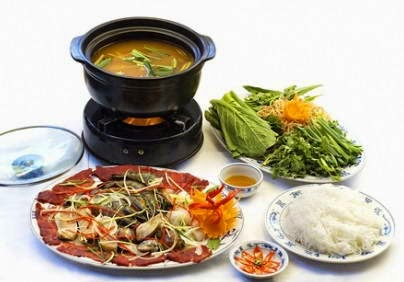 Cách nấu Lẩu sa tế Hải sản ngon