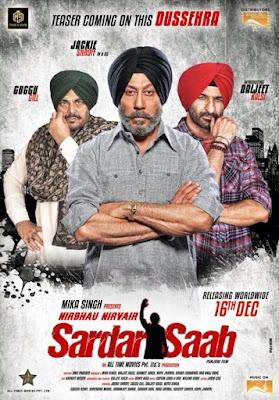 Sardar Saab 2017 Punjabi WEB HDRip 480p 350mb