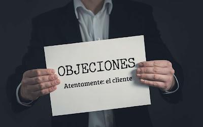 Objeciones. Atentamente: el cliente