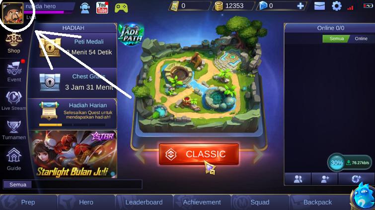cara mengembalikan akun mobile legends yang lama terbaru 2018