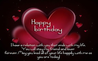 happy birthday wishes for lover images