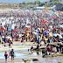 Playas colmadas, en el cierre de la segunda quincena de Enero en Las Grutas