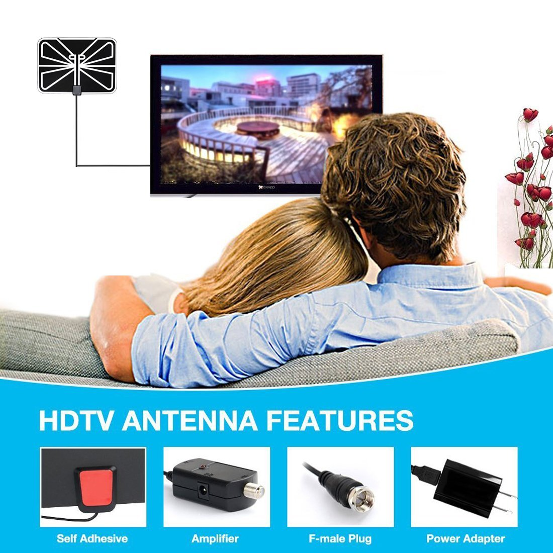 Missys Product Reviews : ZetHot TV Antenna