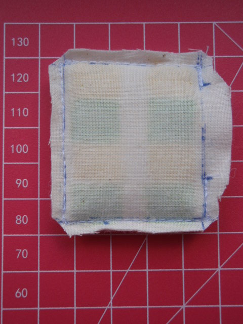 Turning tiny stitching
