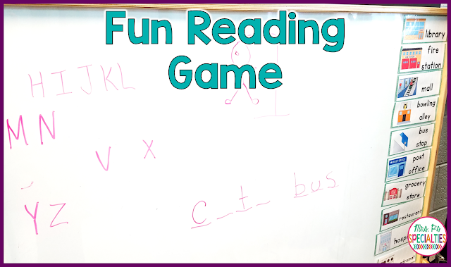 Want your students to be excited to practice spelling and vocabulary?? Who wouldn't! You can easily get students to feel this way by using the game Hangman to practice! In order to correctly solve the word(s), students need to use their knowledge of words and letter patterns.